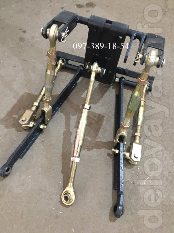 Трьохточкова навісна система,для мототрактора,саморобного трактора ,3