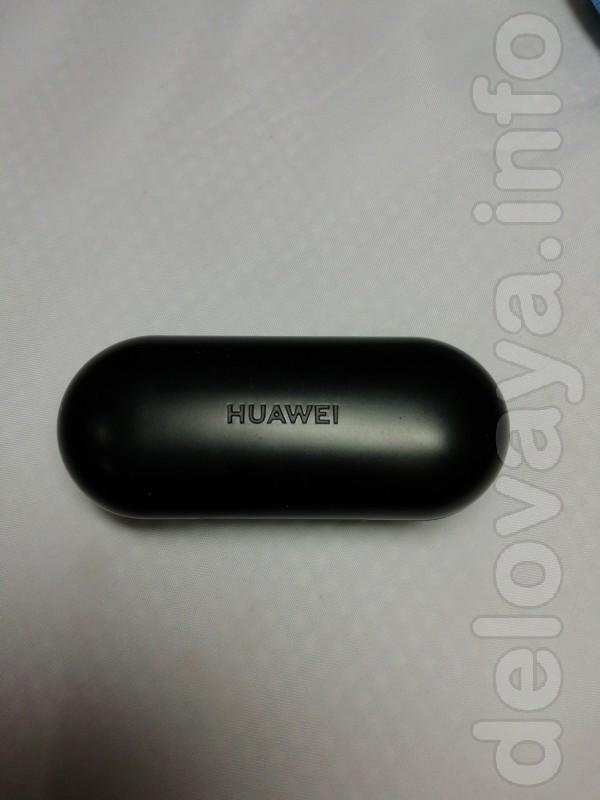 Продам почти новые беспроводные наушники HUAWEI
