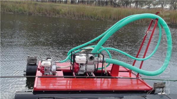 Продам водную технику для углубления, очистки от ила и камыша, добычи