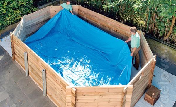 Продажа покрытий для бассейнов, прудов, копанок, резервуаров, полигон