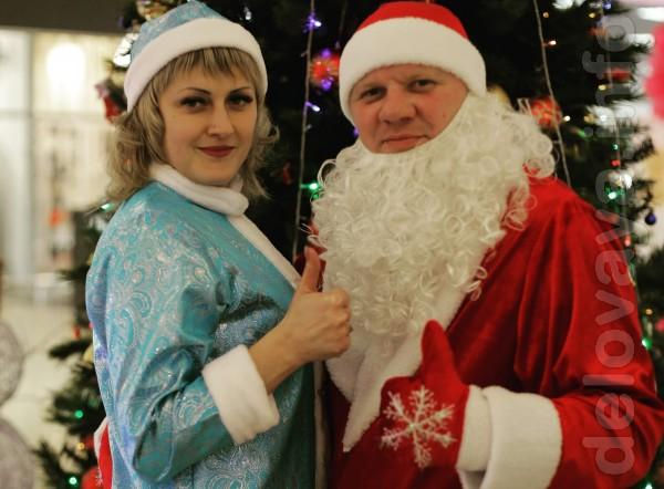 В Новогоднюю ночь Дедушка Мороз и Снегурочка принесут сказкку в Ваш д