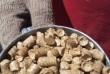 Пеллеты из шелухи и пелеты из соломы
