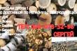 Продам сухие дрова колотые и не колотые с доставкой по региону.