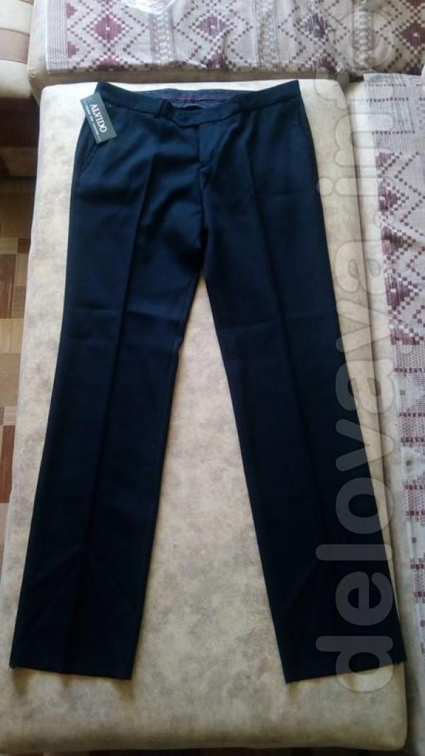 Новые мужские классические брюки 52 размер Замеры Пояс 96 см Ширина б