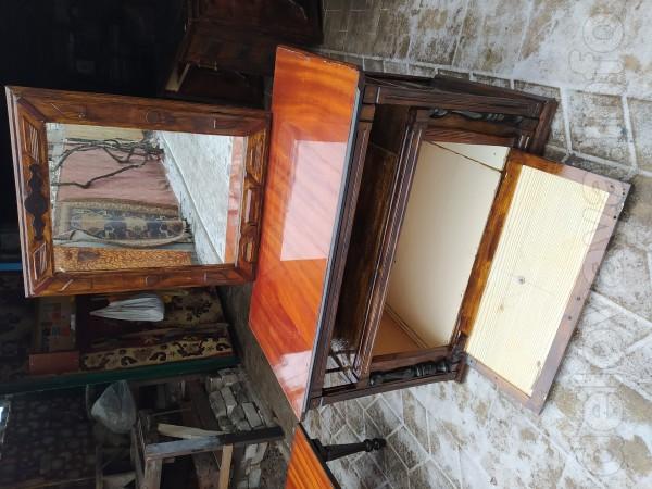 Трюмо В 66-140см, Ш 106,Г 58 см, зеркало Ш 65 см, 800 грн.торг.