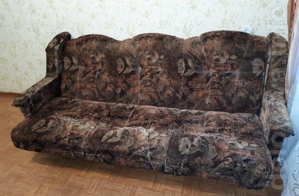 Продам диван б/у и 2 кресла. Состояние хорошее - на фото всё видно.