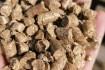 Пелеты (пеллеты) из лузги и соломы оптом. Гранулы из шелухи подсолнеч фото № 1