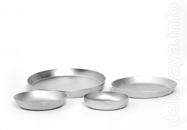 Алюминиевые формы для выпечки «Деко»: -   диаметром   140 мм       вы