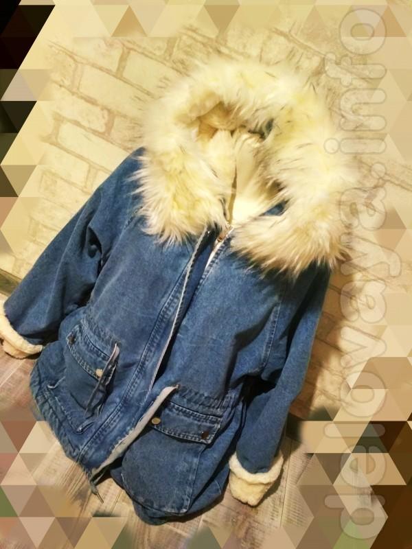 Новая Продам джинсовую куртку. Размер: L-M Еврозима Цена: 800грн