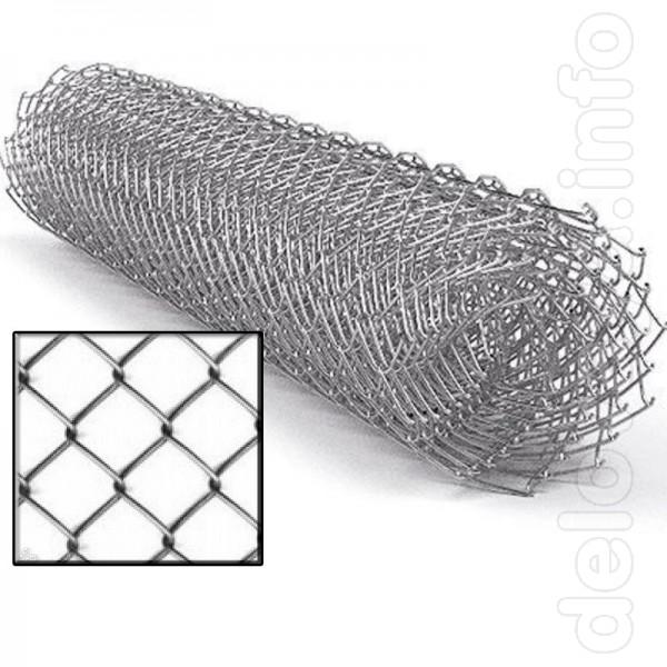 Сетка рабица предназначена для ограждения придомовых или дачных участ