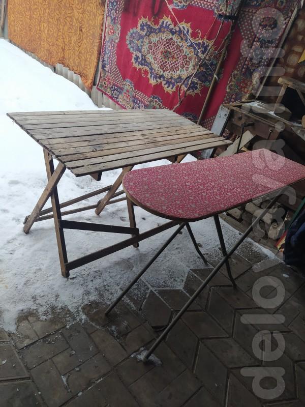 гладильный стол 150 гр.размер 121х35х85 см.,стол хозяйский 150 гр.р-1