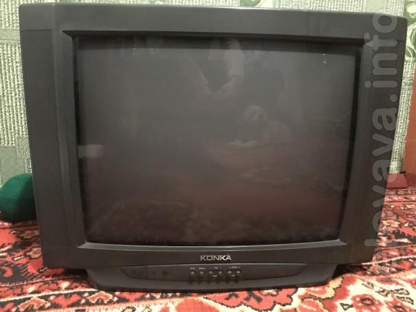Телевизор KONCA. Полностью рабочий, в отличном состоянии, с пультом Д