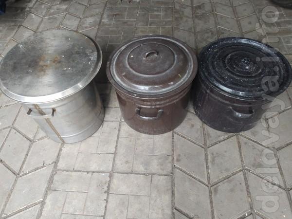Кастрюля эмалированная 30 литров-150 гр,  кастрюля 40 литр.нержавеюща