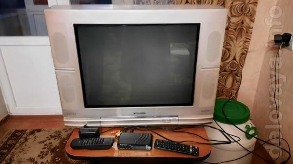 Продам телевизор Toshiba Bomba 21CJZ6SR (диагональ 54 см) и приставку