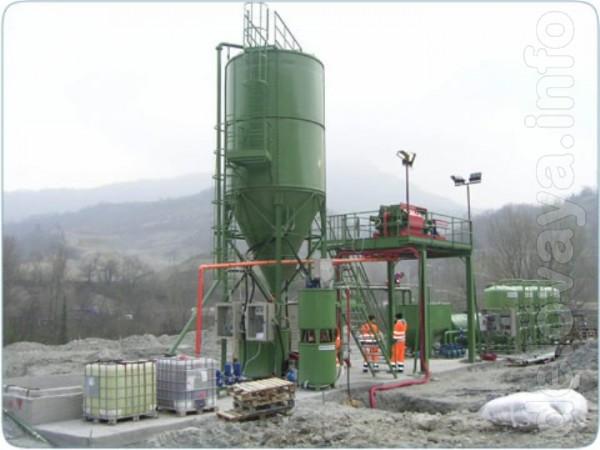 Предлагаем БУ системы для очистки и рециркуляции воды для камнеобраба