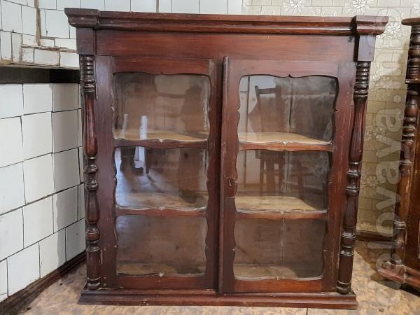 Старовинний кухонний буфет, рiзнi деталi, вставки