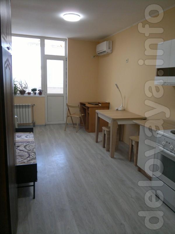 Продаться  просторная и удобная квартира студия  в новом отличном дом