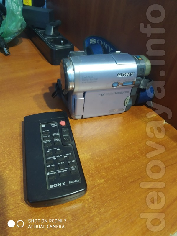 продам видеокамеру SONY в хорошем рабочем состоянии (нету зарядного у