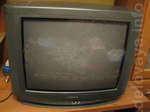 Продам телевизор Konka диаметр 21' в хорошем состоянии, торг