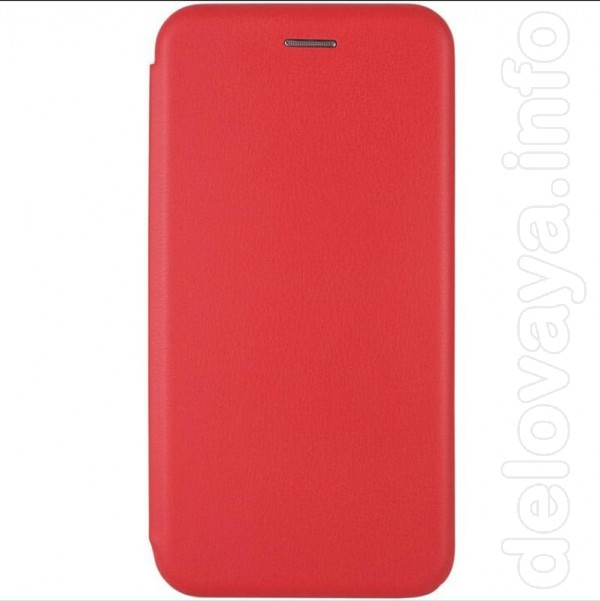 Чехол-книжка для Samsung galaxy A01 core Новый Цвет: красный