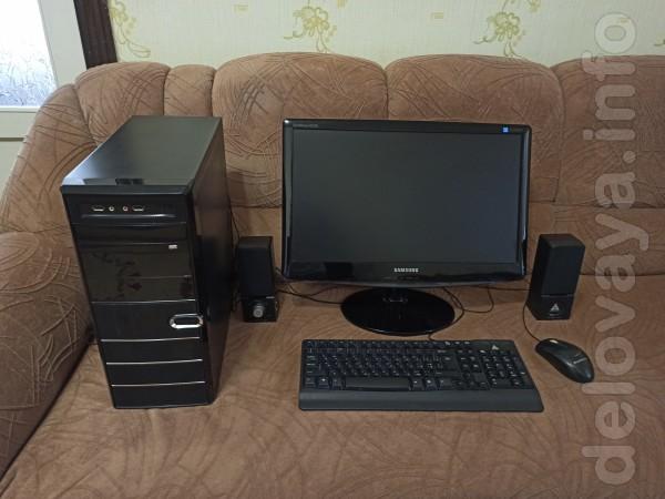 Компьютер ACPI x64 – based PC Процессор: AMD Athlon (tm) II X2 220 ,