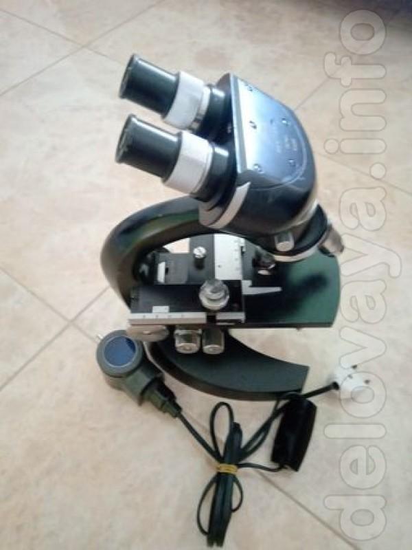 Микроскоп рабочий, производство Германия - 15000 грн. Т. 099-514-65-4