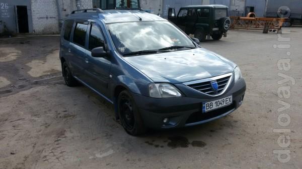 Продается Dacia logan MCV длинная база. 2007 год. 1, 5 дизель не биты