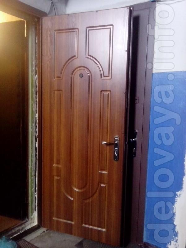 Сварные двери от производителя. Различные виды отделок : винилкожа, д