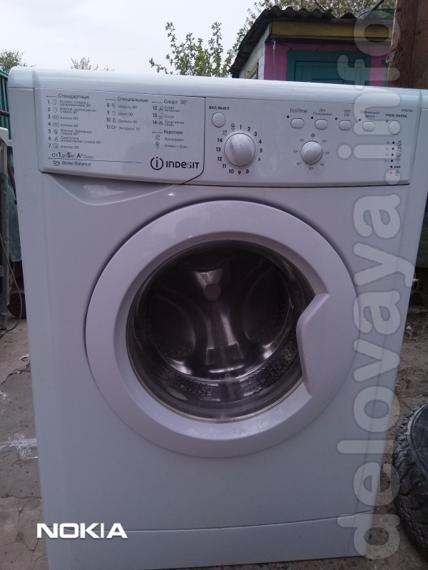 Продам стиральную машину Индезит на 5 кг загрузки вложения в хорошем