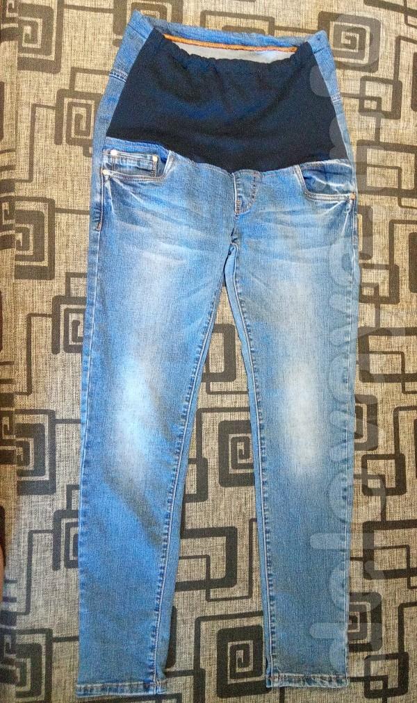 Продам джинсы для беременных в хорошем состоянии, размер 30. Есть нюа