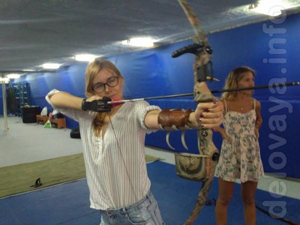 Стрельба из лука в Киеве! (Оболонь, Теремки). Попади в цель! Лучный