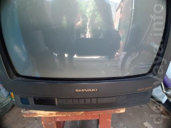 Телевизор SHIVAKI 14' с пультом ДУ в нерабочем состоянии. 100 грн.