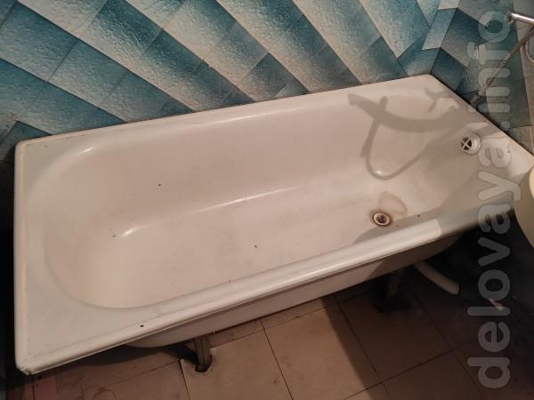 Продам ванну стальную эмалированную в хорошем состоянии. Длина 150 см
