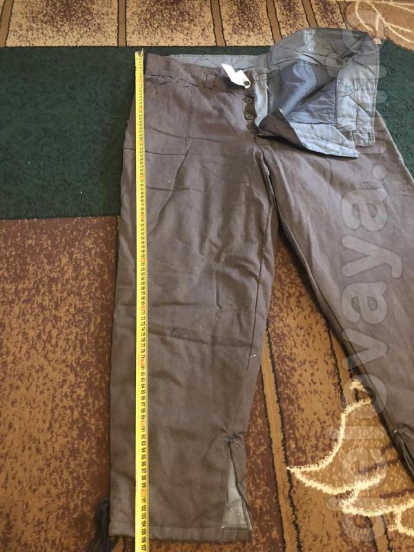 Брюки мужские ватные , новые  для защиты от низких температур. Размер