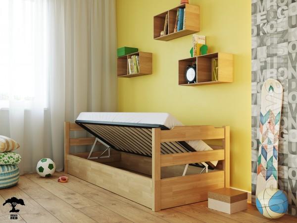 Крутая модель кровати. Качественная, функциональная и сочетает в себе