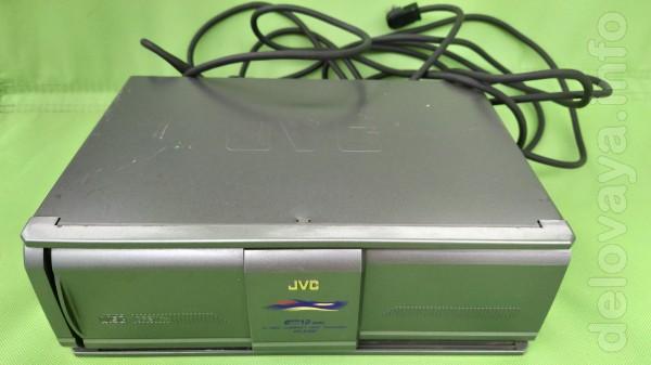 Автомобильный чейнджер компакт-дисков JVC CH-X200 с кабелем длиной 5