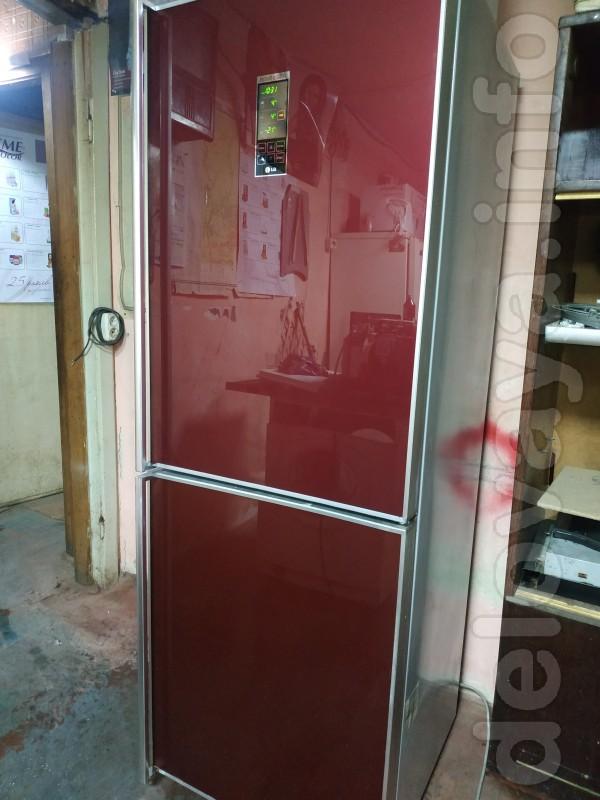 Холодильник LG. Высота 1.85м.. Нижняя морозилка 3 отд.. Генератор льд