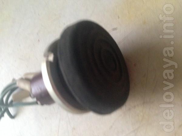 Кнопка электровключателя с обрезиненой головкой. В наличии 4 шт