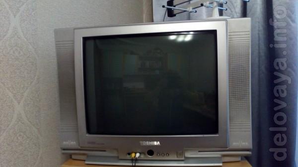 Продам телевизор 'Toshiba' б/у, диагональ- 21,размеры 631х455, в отли