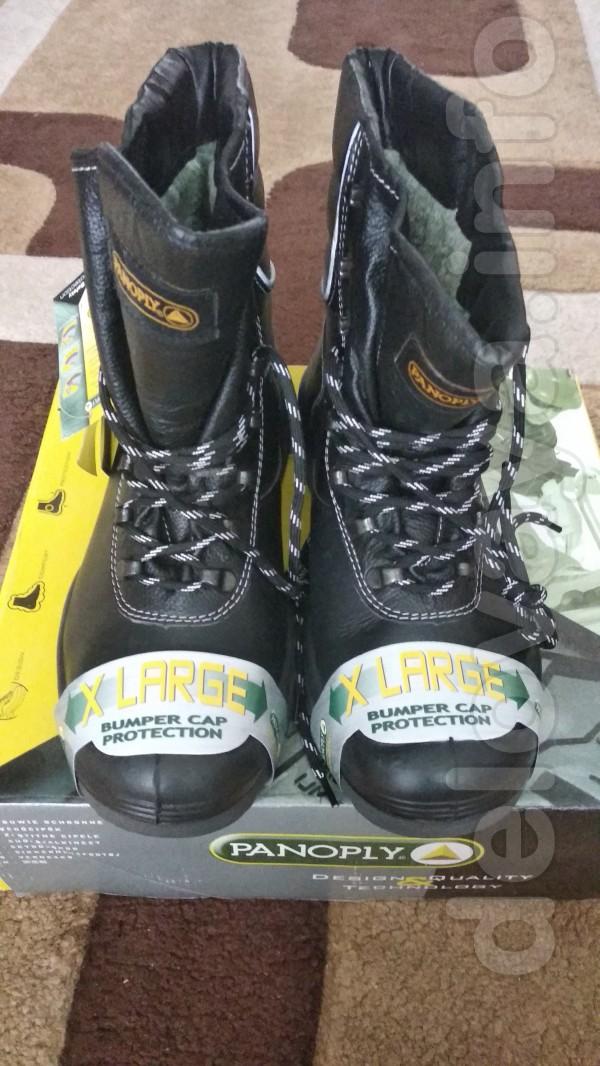 продам  кожаные, новые, утепленные  ботинки(зима) на полиуретановой