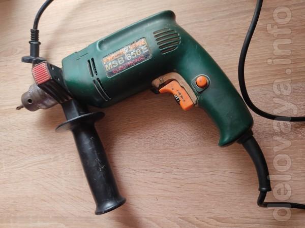 Продам электродрель б/у  , 450грн. Т. 0500273959.