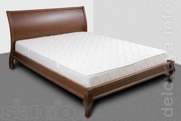 Кровать «Элегант» изготовляется из сосны, ольхи, дуб, ясень от 3850