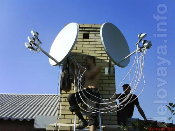 Спутниковое тв - ремонт и обслуживание, весь спектр услуг.Пенсионерам