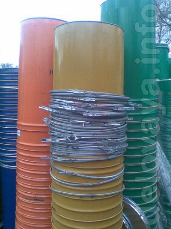 Продам железные бочки: -с герметической закрываемой крышкой, -бочки