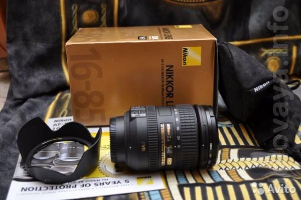 Технические характеристики Nikon AF-S DX Nikkor 16-85mm f/3.5-5.6G ED