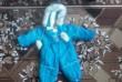 Детский зимний комбинезон на меху на мальчика