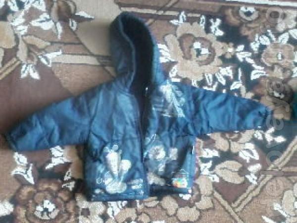 Продам осеннюю куртку на мальчика в возрасте от 2-х до 3,5 лет.  Цен
