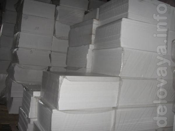 Пенопласт ПСБ 25 -фасадный 50мм  в зависимости от плотности ( 36.00