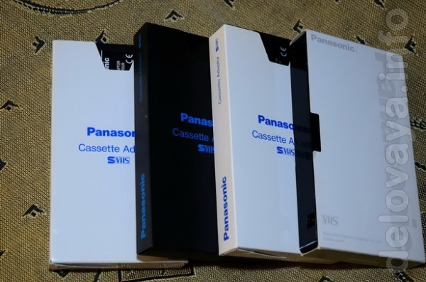 Продаются новые фирменные VHS-C адаптеры Panasonic а также есть в про