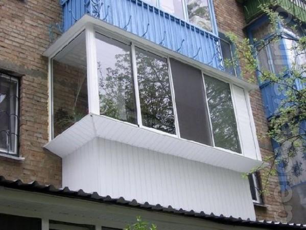Балконы и лоджии 'под ключ'.Обшивка фасадов сайдингом, пластиком, про